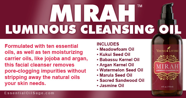 Young Living Mirah Luminous Cleansing Oil