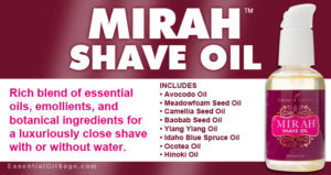 Young Living Mirah Shave Oil