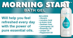 Young Living Morning Start Bath Gel