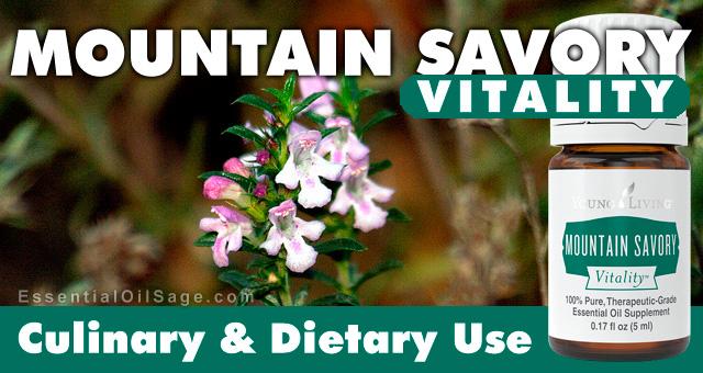 Young Living Mountain Savory Vitality Oil