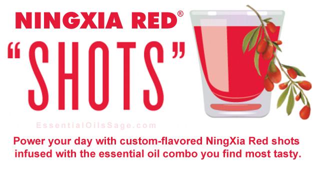 Adding oils to NingXia Red