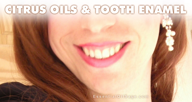 Citrus Oils and Tooth Enamel
