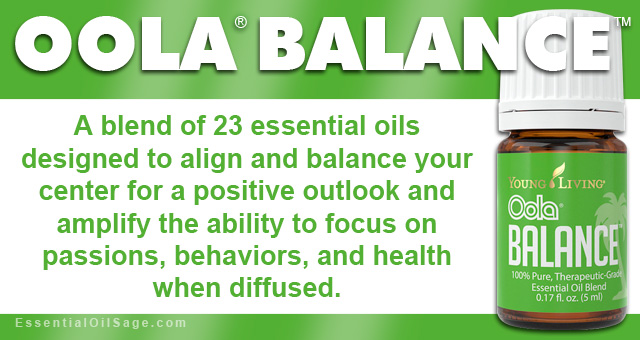 Young Living Oola Balance Oil