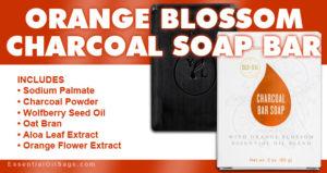 Young Living Orange Blossom Charcoal Bar Soap