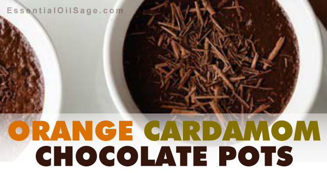 Recipe: Orange Cardamom Choco Pots