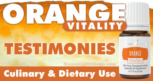 Orange Vitality Testimonies