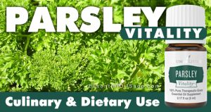 Parsley Vitality Essential Oil