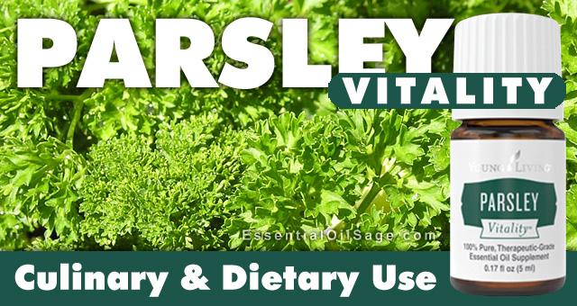 Parsley Vitality Essential Oil