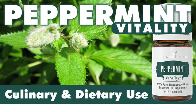 Young Living Peppermint Vitality Oil