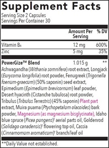 Powergize Ingredients
