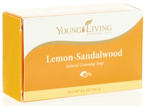 Lemon-Sandalwood Bar Soap