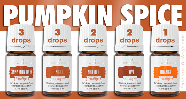 Young Living Pumpkin Spice Essential Oil Recipes
