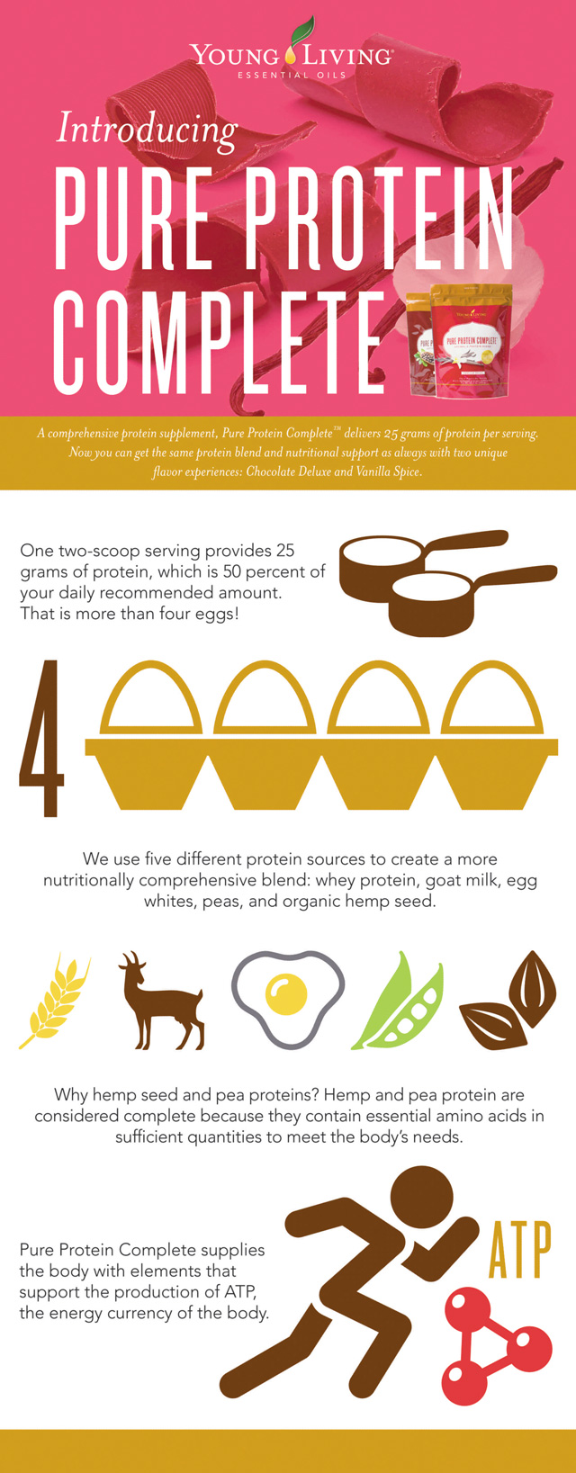 Pure Protein Complete Infographic