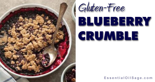 Recipe: Gluten-Free Blueberry Crumble