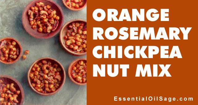 Recipe: Orange Rosemary Chickpea Nut Mix
