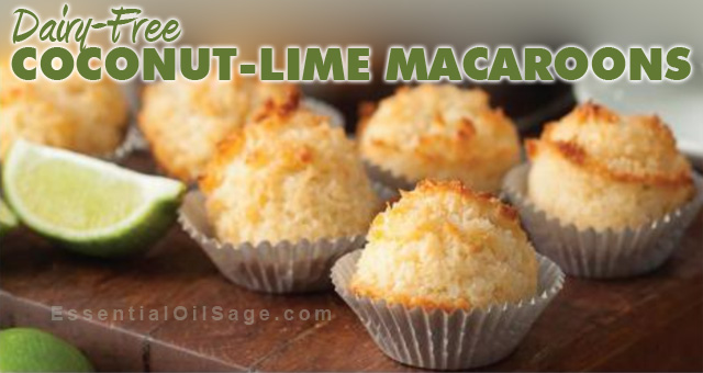 Recipe: Coconut-Lime Macaroons