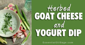 Recipe: Herbal Goat Cheese and Yogurt Dip