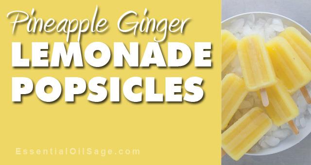 Recipe: Lemonade Popsicles