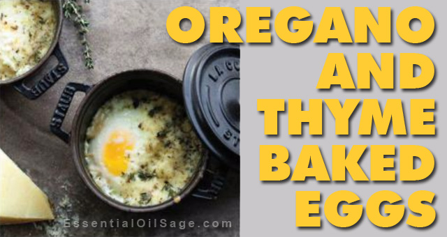Recipe: Oregano and Thyme Baked Eggs
