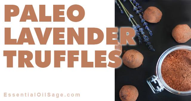 Recipe: Paleo Lavender TrufflesRecipe: Paleo Lavender Truffles
