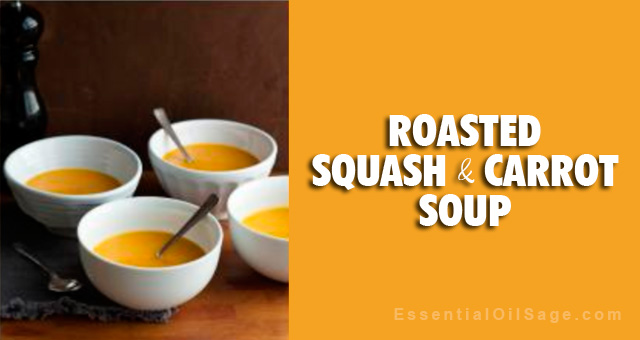 Recipe: Roasted Squash and Carrot Soup