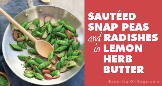 Recipe: Snap Peas and Radishes