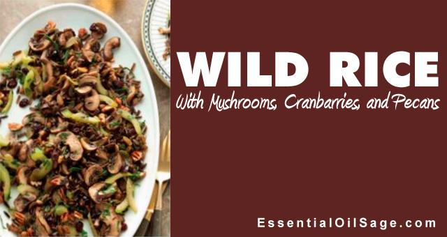 Recipe: Wild Rice with Mushrooms