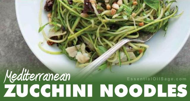 Recipe: Mediterranean Zucchini Noodles