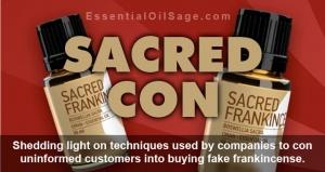 Sacred Frankincense, Sacred Con