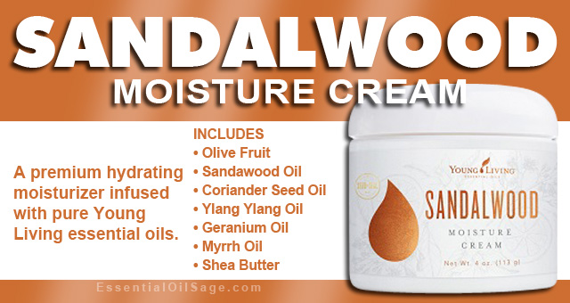 Young Living Sandalwood Moisture Cream