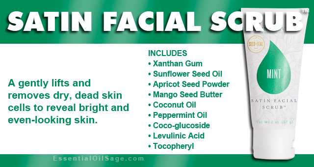 Young Living Satin Facial Scrub
