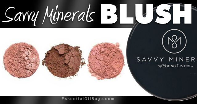 Young Living Savvy Minerals Blush
