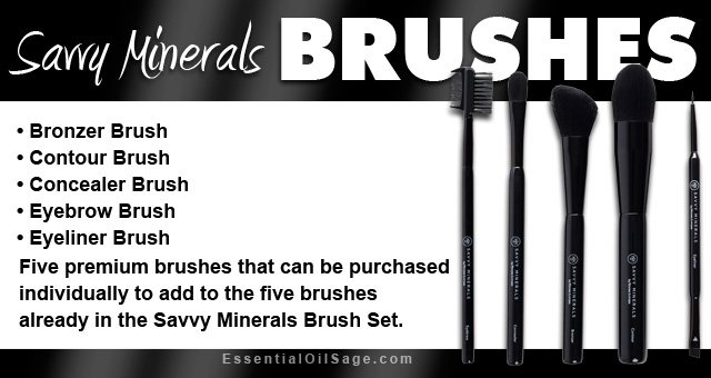 Young Living Savvy Minerals Brushes