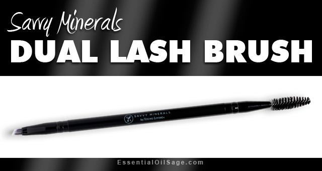 Savvy Minerals Dual Lash Brush