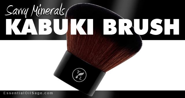Young Living Savvy Minerals Kabuki Brush