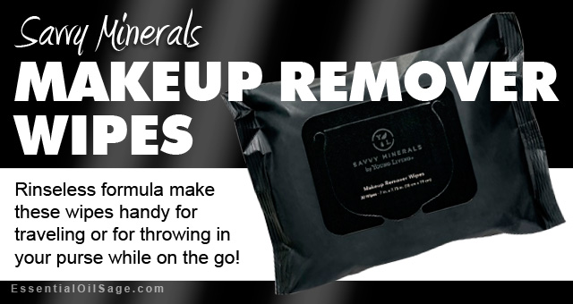 Savvy Minerals Makeup Remover-wipes