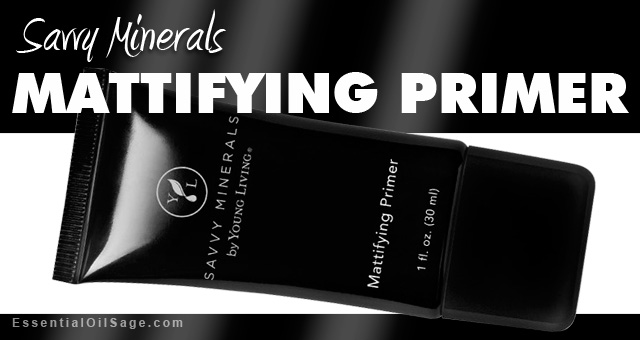 Young Living Savvy Minerals Mattifying Primer