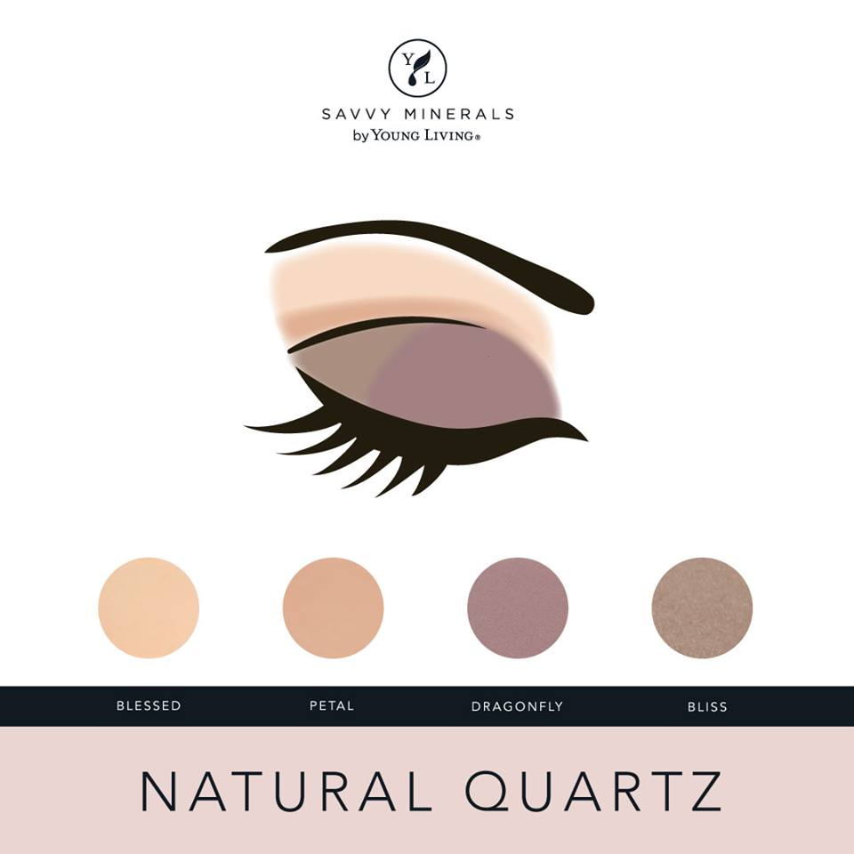 Savvy Minerals Natural Quartz Eyeshadow Palette