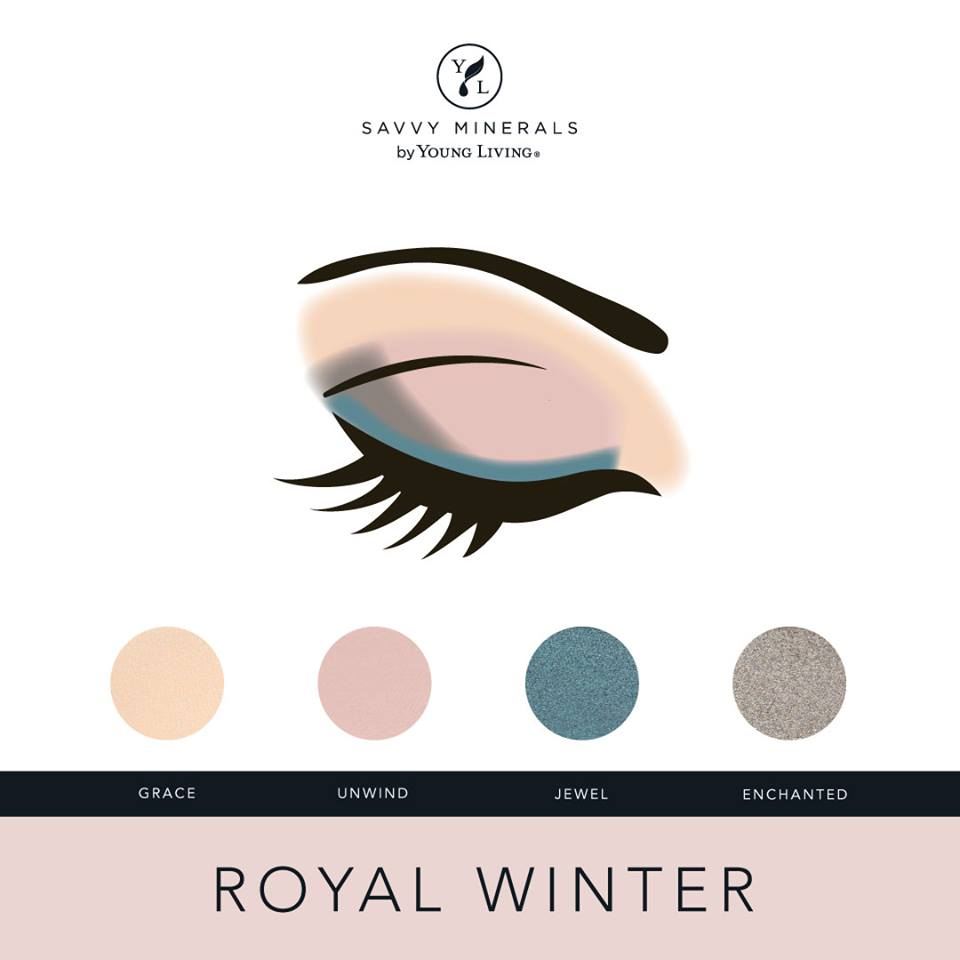 Savvy Minerals Royal Winter Eyeshadow Palette