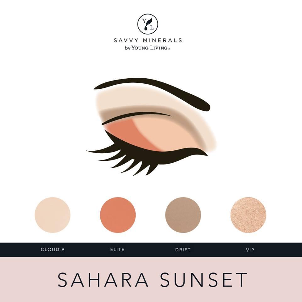 Savvy Minerals Sahara Sunset Eyeshadow Palette