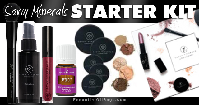 Young Living Savvy Minerals Starter Kit