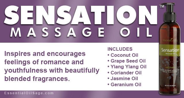 Young Living Sensation Massage Oil