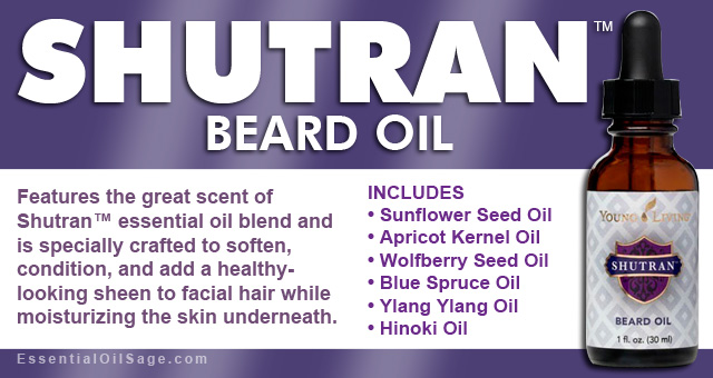 Young Living Shutran Beard Oil