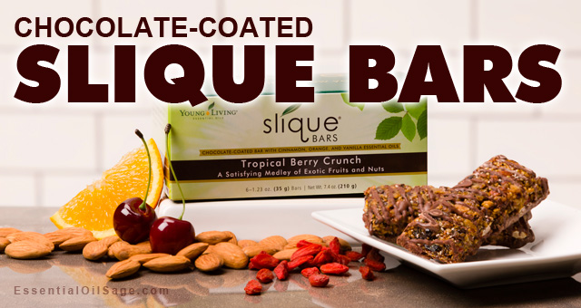 Chocolate-Coated Slique Bars