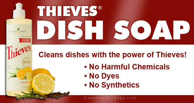 Thieves Dish Soap