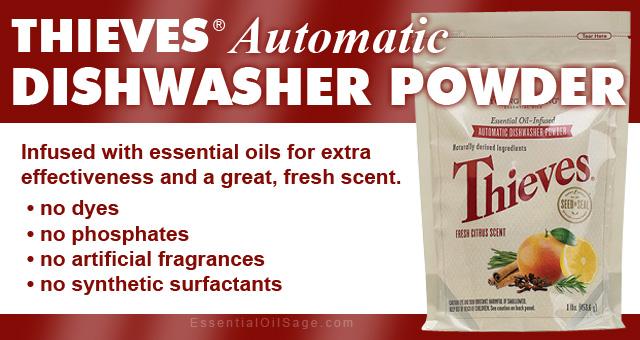 Thieves Natural Dishwasher Powder
