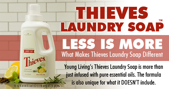 Thieves Laundry Soap - Less is more
