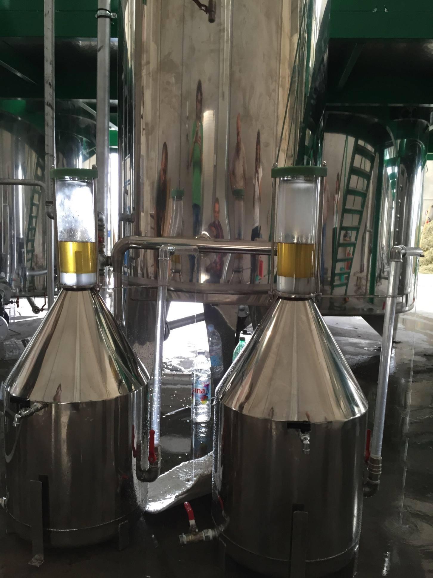 First helichrysum distillation