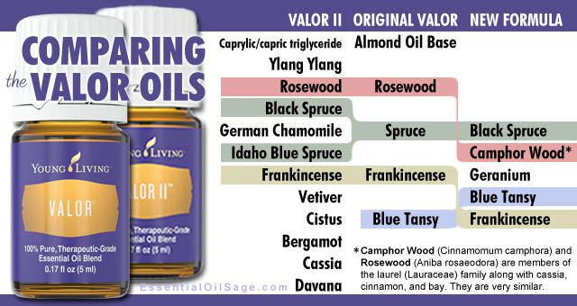 Valor Oil vs Valor II Comparison