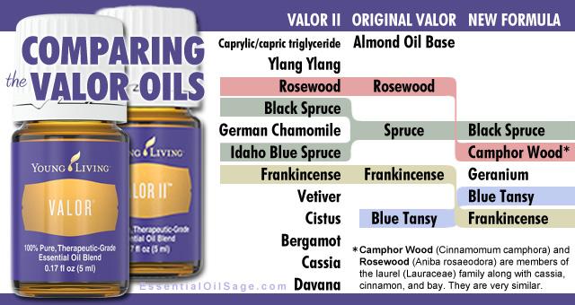 Valor Oil vs Valor II Comparison